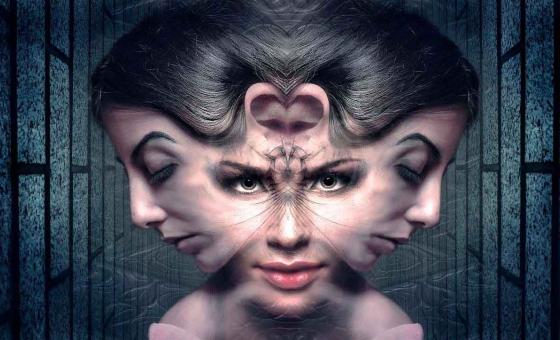 photo montage visage montrant comment etre hypnotise