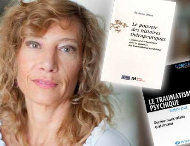 Evelyne Josse formatrice en hypnose métaphore et gestion des traumatismes
