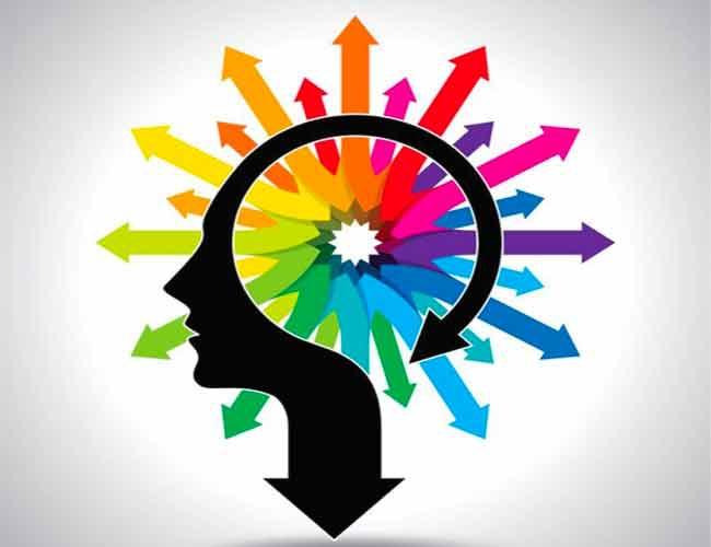 oeil bleu hypnotique comme le logo de generation formation